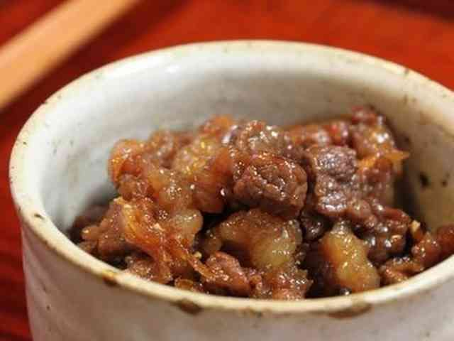 牛肉の大和煮の画像