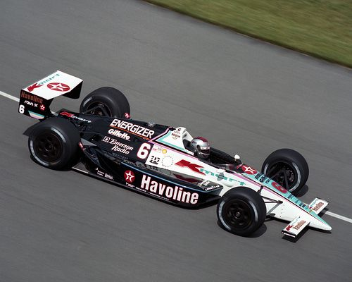 Mario Andretti - Kmart/Havoline Lola T9000 Chevy A - Newman Haas Racing - Indianapolis 500-Mile Race 1990 - 1990 PPG Indy Car World Series, round 3