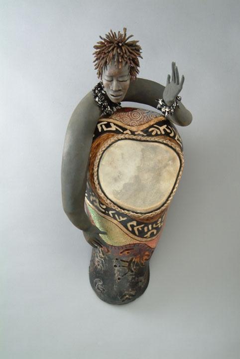 Spirited Drummer    by Patricia C. Boyd