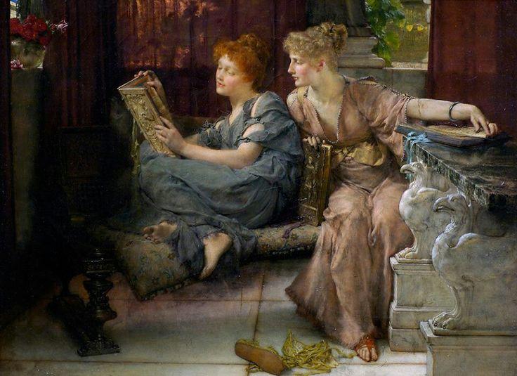 Sir Lawrence Alma-Tadema 'Comparisons' 1892