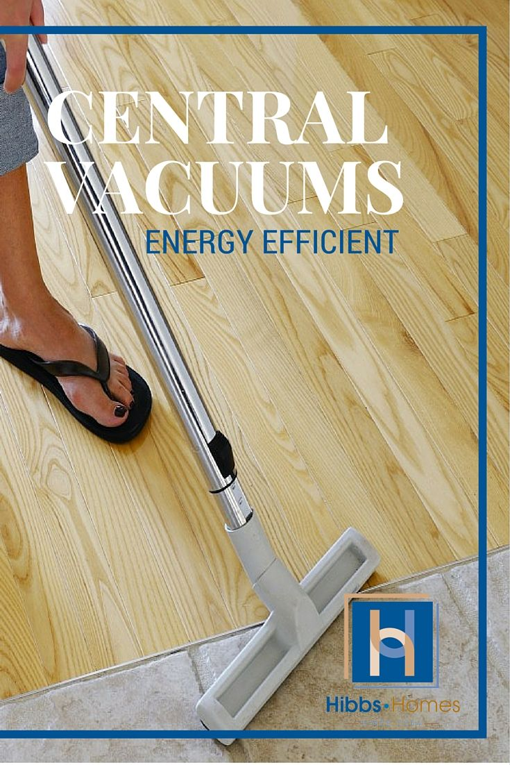 """A central vacuum system should top your list when it comes to those """"must haves"""" for a new construction home. #centralvacuum #customhome #greenhome #energyefficient"""