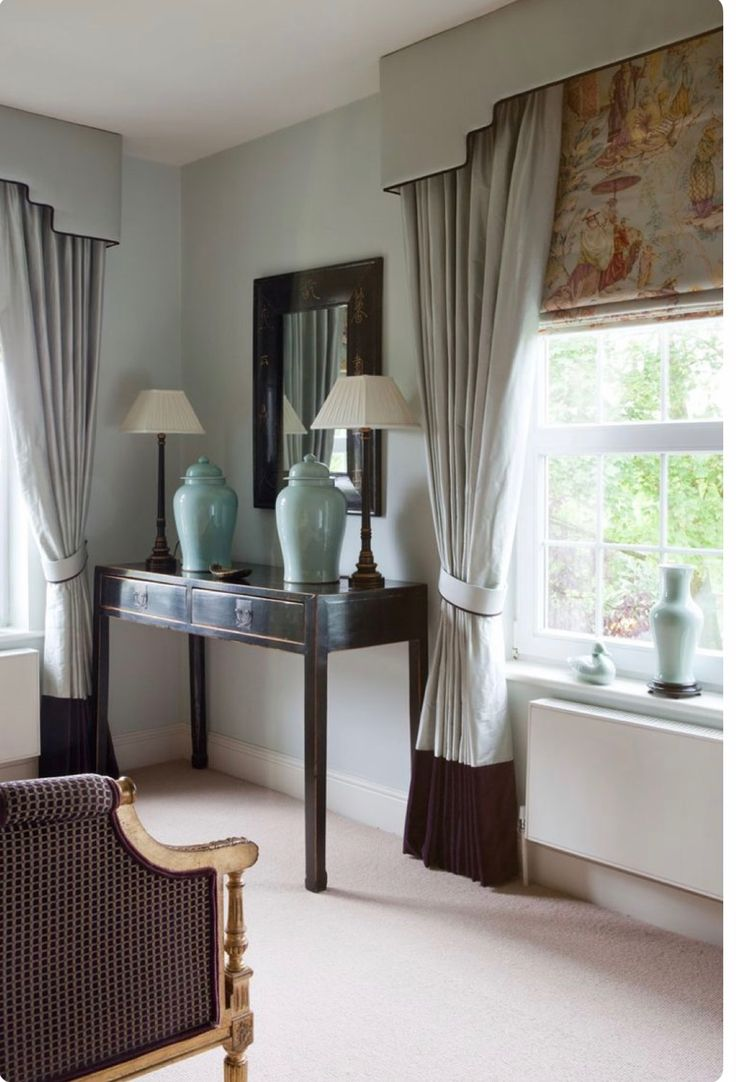 Blinds and curtains ideas - Living Room Curtains Window Coverings Window Treatments Curtain Ideas Sitting Rooms Blinds Dressing Curtains