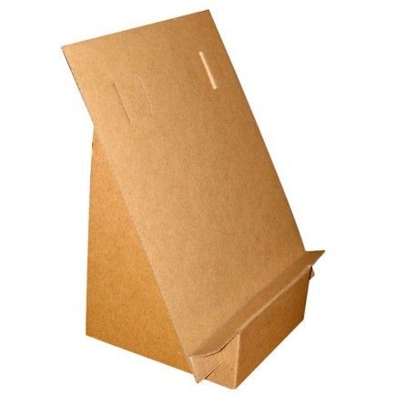 "PA4 Pupitre A4"" Cardboard Display Stand Quart de Poil"