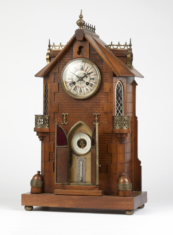 High Quality A Gothic Style Architectural Clock, Shreve U0026 Co