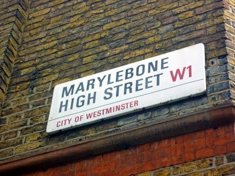 Marylebone High Street, Image by Homegirl London