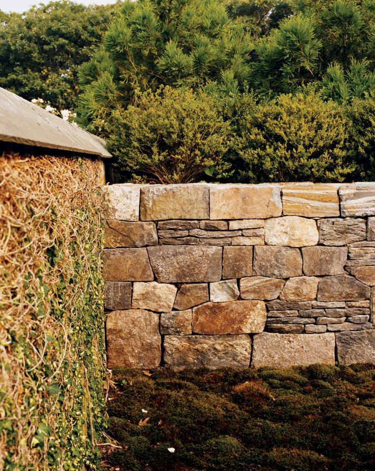 Rustic Stone Walls : Best stone paving images on pinterest