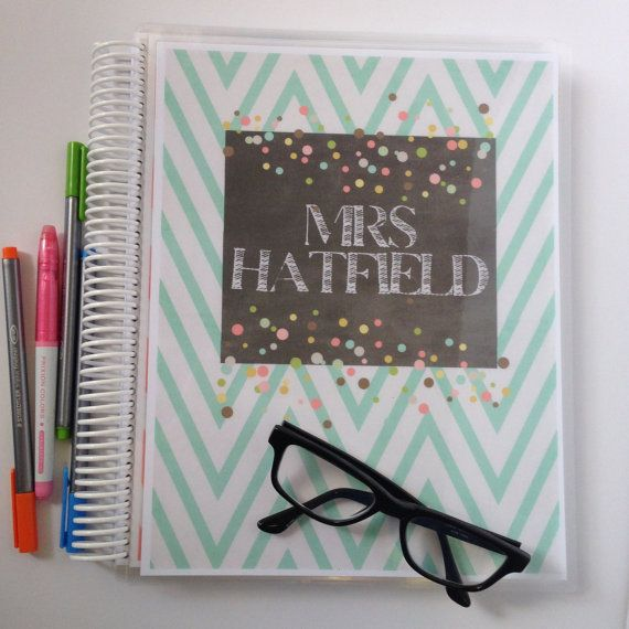 Teacher Lesson Planner  PERSONALIZED for you by FarmGirlJournals