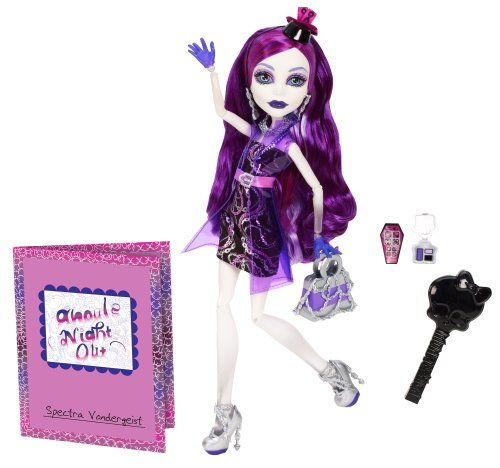 monster high ghouls night out doll spectra vondergeist httpwwwkidsdimension