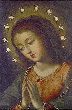 Virgen Orante - Gregorio Vasquez de Arce y Ceballos
