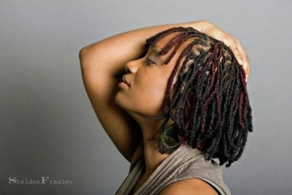 Hair Locs Styles: 62 Best Short Dreads/styles Images On Pinterest