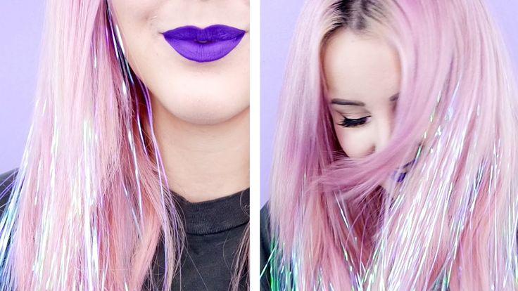 How To: Sparkly Tinsel Hair!   by tashaleelyn