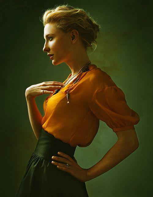 Superbe Kate Blanchett, un port de reine.