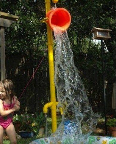 backyard water fun!
