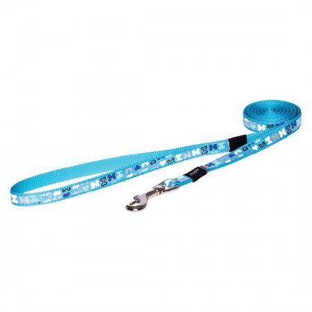 Rogz Lapz Trendy dog lead 180 cm Blue - Medium