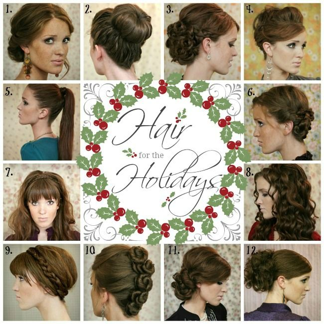 The Freckled Fox : Hair for the Holidays. the most chic and glam hair tutorials for you to pick from