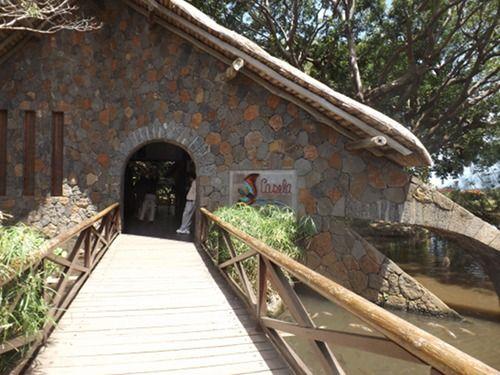 Casela Nature & Leisure park on the west coast of Mauritius