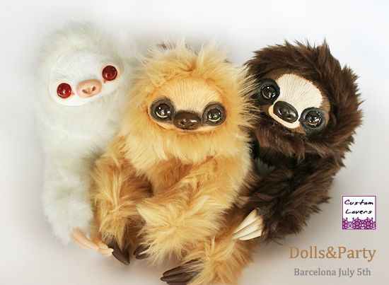 Sloth family by CustomLovers on DeviantArt