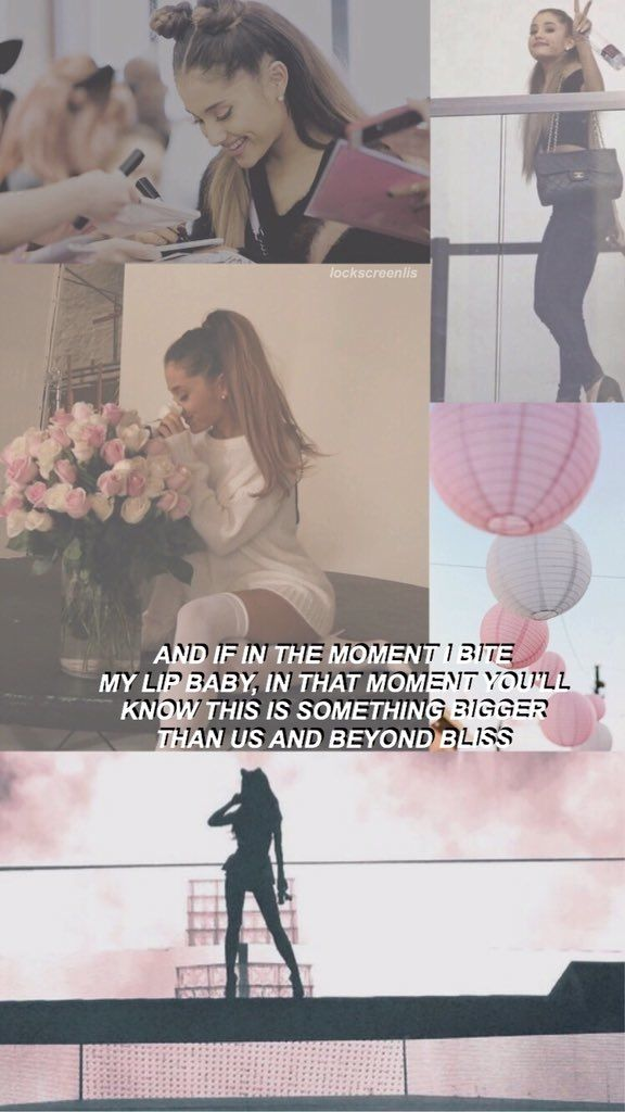 ♡ Wallpaper Lockscreen Ariana Grande ♡