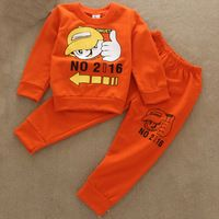 2-4Y autumn cartoon suits Minnie sweatshirt +pants kids hoodies set children clothing sets baby boy clothes girls clothes