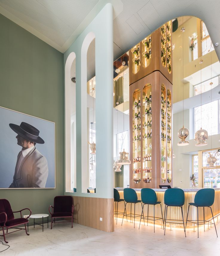 980 best ideas restaurants images on pinterest for Design hotel madrid