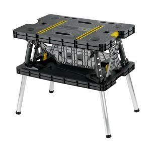 Keter 21.65 in. x 33.46 in. x 29.7 in. Folding Work Table-197283 - The Home Depot