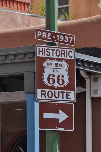 //santa fe   A Rota 66 passa em Santa Fé, no Novo México - Estados Unidos