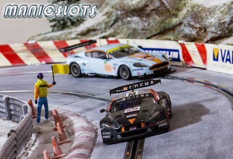 Slot cars, Black Arrow Aston Martin DBR9, BACM01D - 'Team Modena', 1,000km Nürburgring winner, 2008 Le Mans Series - See more at: http://manicslots.blogspot.com.au/2014/04/gallery-black-arrow-dbr9-team-modena.html#sthash.EgXOofzg.dpuf