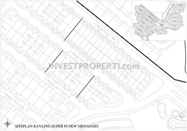Site Plan Cluster New Menagio