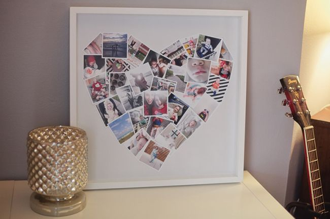 Tabitha from Fresh Mommy Blog tagged us in her DIY on how to make a mini heart photo collage using PostalPix prints and we knew we had to share it. This si