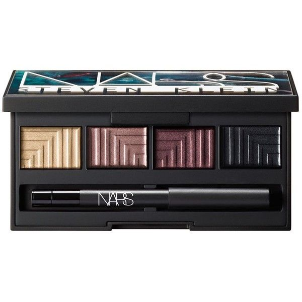 Nars Dead of Summer Dual-Intensity Eyeshadow Palette, Steven Klein x... found on Polyvore featuring beauty products, makeup, eye makeup, eyeshadow, beauty, no color, matte makeup, long wear makeup, nars cosmetics and black makeup