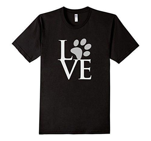 Love Paw Print T Shirt - Male Small - Black Party Shirts http://www.amazon.com/dp/B01BG7DFQQ/ref=cm_sw_r_pi_dp_Y--Swb16YMCY2