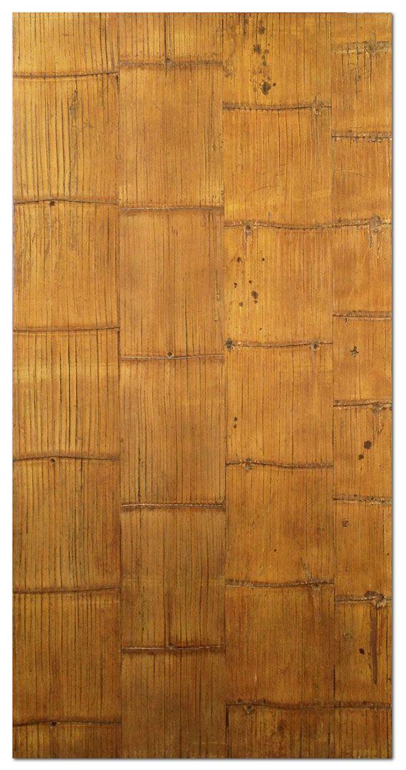 Crushed Bamboo Panel (Rustic)