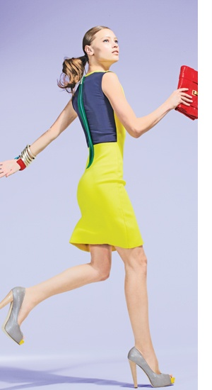 Colorblock: Colors Pop, Color Blocking, Sleeveless Colorblock, Colorblock Felini, Amazing Colorblock, Colorblock Dresses, Azrouel Colorblock, Colors Blocks, Atwood Colorblock