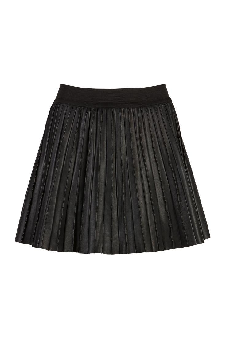 pleat skirt - black - Rokken - Women | BY-BAR - Autumn | Winter 2017