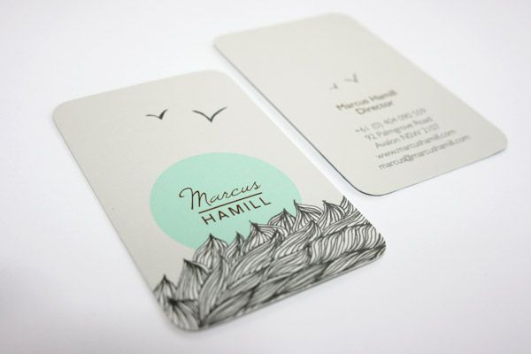 Very cute Business Cards, we love those rounded corners! Print your Rounded Corner Business Cards now with CardsMadeEasy for just £6 http://www.cardsmadeeasy.com/business-card-templates