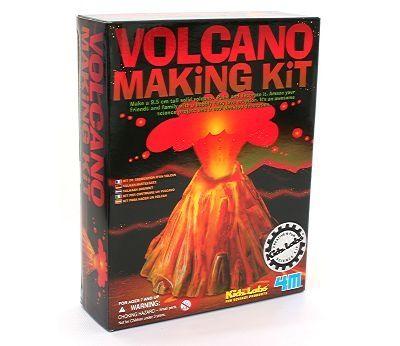 Eksperimentsett, Lag din egen vulkan fra Sprell. Om denne nettbutikken: http://nettbutikknytt.no/sprell-no/