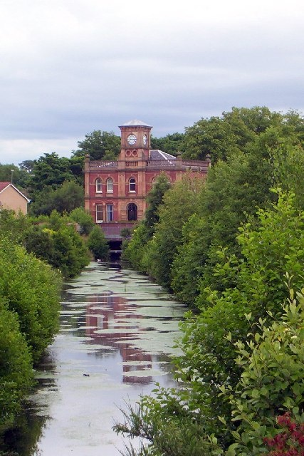 Ferguslie Thread Mills, Paisley, Scotland this is just around the corner from where I live