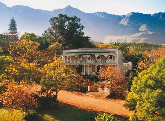 http://www.houseandleisure.co.za/understated-luxury-getaways/ WHY WE LOVE IT:  You won't find lovelier, or friendlier, lodgings than this restored Victorian landmark (meals are in a beautiful glass conservatory), with eight stylish guest cottages and a secluded honeymoon suite.  X-FACTOR: You'll want to stay in for at least one dinner prepared by talented chef Wander Bester, while the breakfasts are a real highlight.