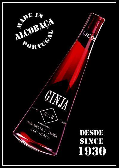 Ginja de Alcobaça, Portugal (Licor de Guinda).  Got a bottle waiting...
