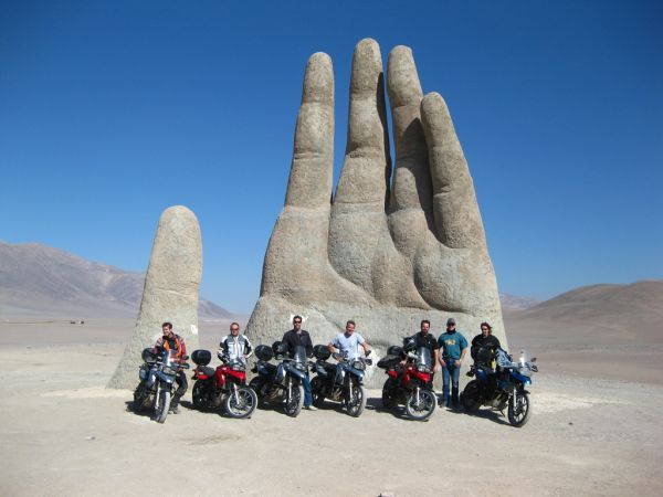 The Hand of the Desert in Atacama Chile