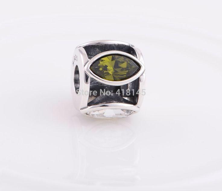925 ясно и зеленые огни бусины, Европейский стиль, Для браслет YZ539купить в магазине Charm Your LifeнаAliExpress