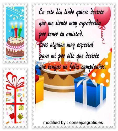 Textos con imàgenes de cumpleaños para una amiga ,saludos de cumpleaños muy originales para dedicar a tu mejor amiga gratis :http://www.consejosgratis.es/bellas-frases-para-una-amiga-por-su-cumpleanos/