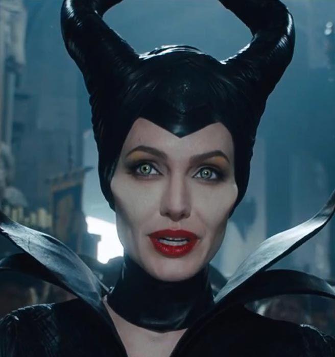 Angelina Jolie Maleficent Makeup