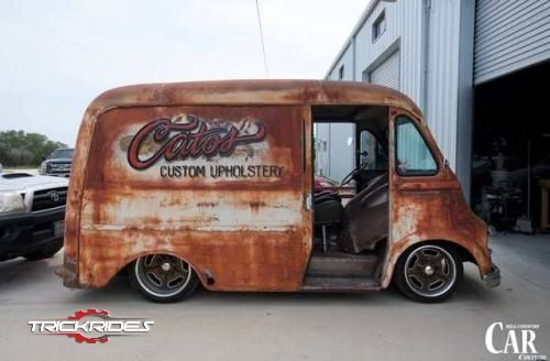 Pin by Patrick on Cars | Hot rod trucks, Step van, Rat rod cars