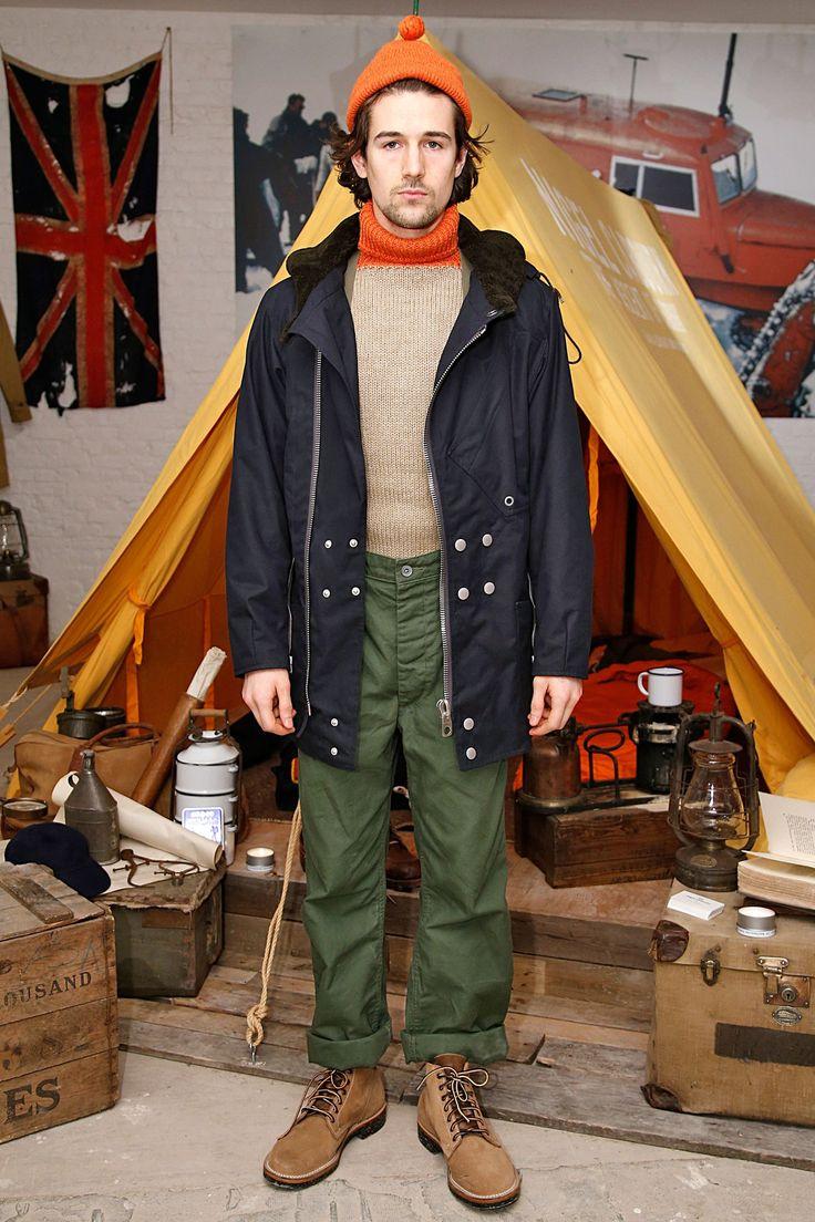 Nigel Cabourn, autumn/winter 2015 menswear