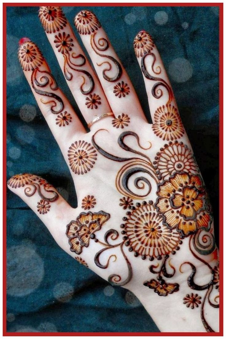 Latest mehndi designs 2016 2017 top 47 mehndi styles - 13 Dilkash Mehndi Designs 2017 With Easy Pattern