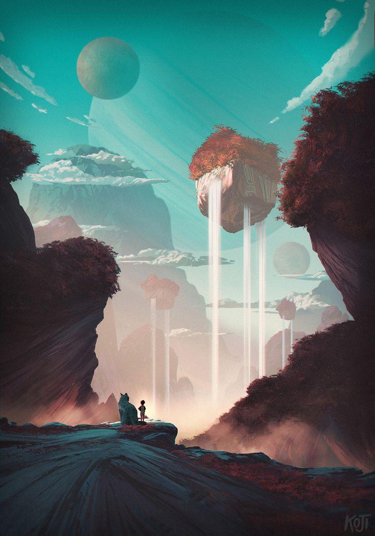 Ilustração por Henrik Evensen https://www.behance.net/selveste