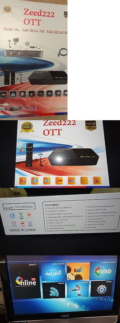 Satellite TV Receivers: Istar Zeed222 Iptv Box 1 Year Free Online Tv Arabic Kurdish Turkish European BUY IT NOW ONLY: $189.99