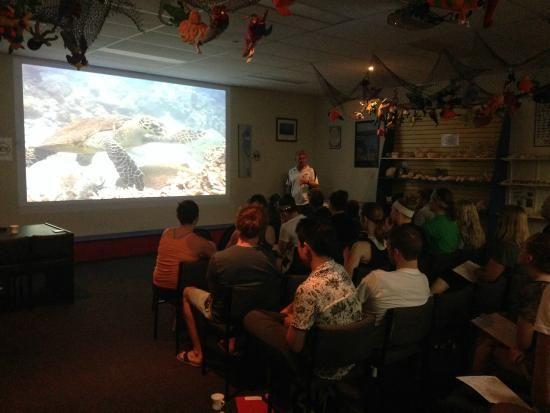 Reef Teach - information session on GBR. Great tripadvisor reviews...