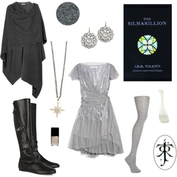 """Tolkien - Modern Sindarin Elf"" by domes-and-towers on Polyvore"